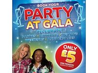 Party Packages at Gala Bingo Fenton & Hanley