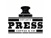Barista's,Supervisor's and part time food prep role required for speciality coffee business .