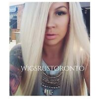 CLOSURES IN TORONTO. 100% HUMAN HAIR WIGS & HAIPPIECES