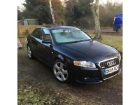 Audi A4 2.0 TFSi Quattro S Line - 2005 - Black - Low Mileage - Full leather