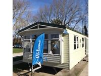 Bargain Static caravan for Sale on Burnham on Sea Haven park. Central Heating and double glazing