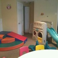 Home daycare in Vaudreuil with space available 7.55 a day