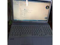 Sony Vaio VPCEB1SOE,6gb ram,250gb hdd,genuine windows 7