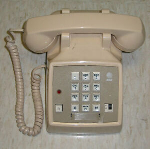 "I WANT OLD-FASHIONED TELEPHONES!  ""Touch-tone"", please"