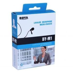 Lavalier High Quality Microphone (BOYA BY-M1) ON SALE - $59 Brand New!