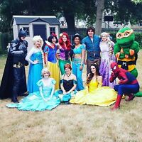 Princess Parties & Appearances Birthday party Super Hero's