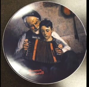NORMAN ROCKWELL COLLECTOR PLATE ETC.