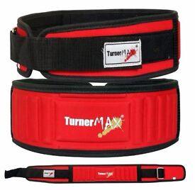 TurnerMAX Power Weightlifting Belts For Fitness, Exercise, Body Building And Back Support