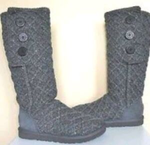 UGG grey card boots size 9