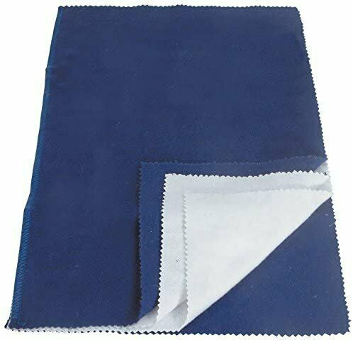 Jewelry Cleaning Polishing Cloth Silver Gold Brass Restore Shine Multiple Layer