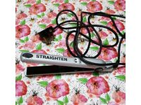 WAHL Silver Slim Plate Hair Straighteners / Straightening Irons