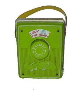Fisher Price #768 Music Box Happy Birthday Saint-Hyacinthe Québec image 1