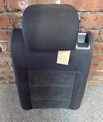 14796 2C2 MK6 VW GOLF GT TDI 3 DOOR NSR REAR PASSENGERS SIDE SEAT IN SUEDE CLOTH