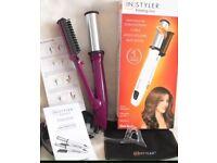 In styler hair straighteners