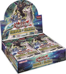 YUGIOH SHADOWS OF VALHALLA BOOSTER BOX & SINGLES