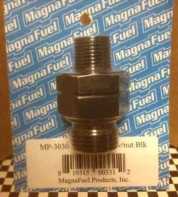 """MP-3030 Magnafuel 3/8"""" NPT Pipe Thread To -10 AN Straight Cut Coupler Fitting"""