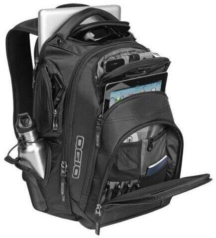 """OGIO Stratagem Back Pack 17"""" Laptop MacBook Pro Backpack - Black"""