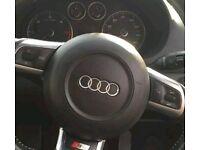 audi a3 s3 rs3 tt flat bottom steering airbag