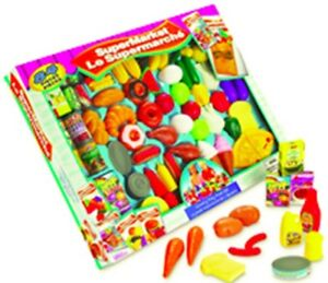 NEW: 84 pieces Supermarket Play Food Set - $20 CASH, NO TAX