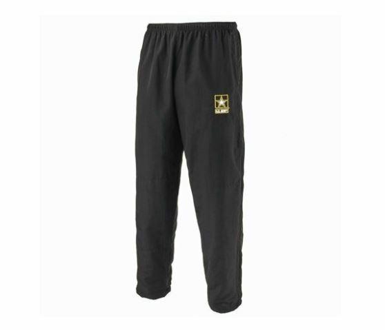 NEW - Black APFU Army Physical Training PANTS - LARGE