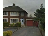 Large 3 bedroom semi-detached house with garage in Blackburn/ Pleckgate - Lancashire