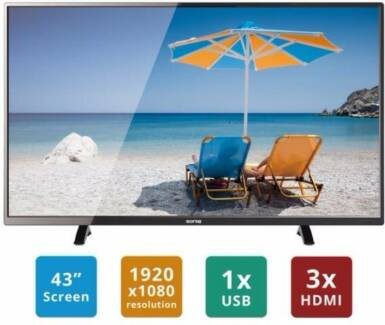 "SONIC 108cm 43"" FULL HD LED LCD TV"