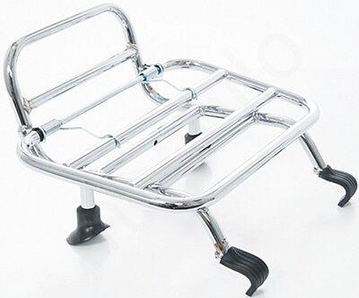 Vespa GTS GTV 125 250 300 Chrom Klappgepäckträger Gepäckträger vorn Neu