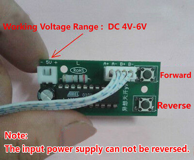Programmable 2 Phase 46 Wire Stepper Motor Driver Control Board Diy Robot Car