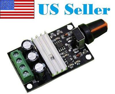 6v 12v 24v 28v 3a Mini Pwm Dc Motor Speed Controller Module Switch Control
