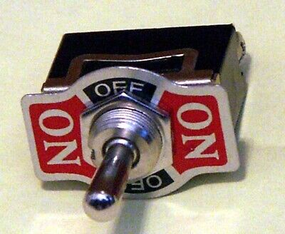 Toggle Switch Spdt On-off-on Momentary One Side 20 Amp K113