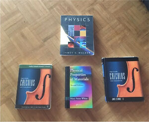 Dalhousie books ( calculus - material science - physics)