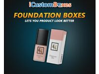 Give your product a new spirit with foundation boxes