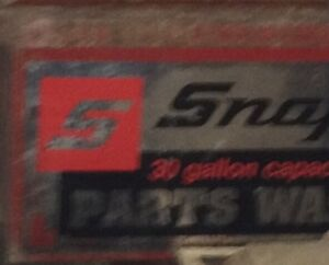 Parts Washer Snap-On 30 gallons originale  usager 750$ debarras