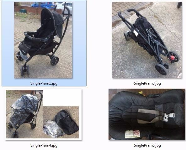 Pram / Pushchair with Car Seat - Pet & Smoke free bungalow