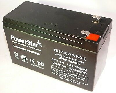 12V 7AH Sealed Lead Acid (SLA) Battery for Universal ALARM CONTROL SYSTEM on Rummage