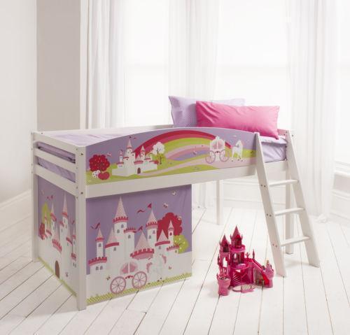 Kids Mid Sleeper Bed Ebay