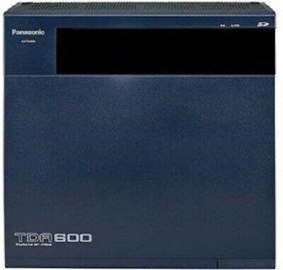Panasonic Kx-tda600 Ip Pbx Main Cabinet With Empr Processor Psu Large Bus M