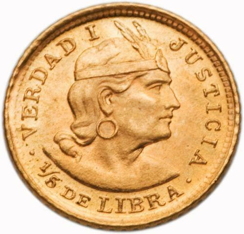 Peru Gold Coin Ebay
