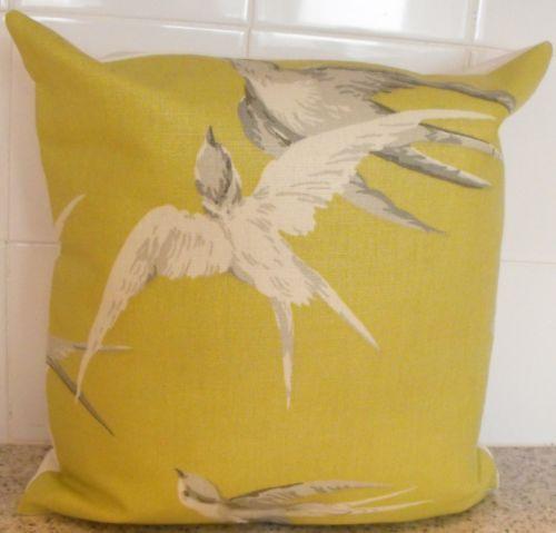 Sanderson swallows home furniture diy ebay - Sanderson swallows wallpaper pebble ...