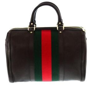 e39840a57521 Gucci Web Boston Bag