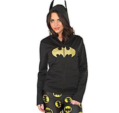 Batman Batgirl Zip-Up Hoodie (Batgirl Hoodie)