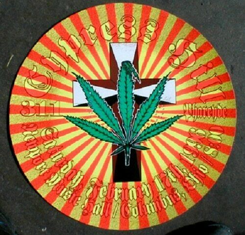 311 Cypress Hill Concert Poster Lindsey Kuhn Designed Columbus 1996