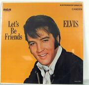 Elvis Lets Be Friends
