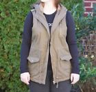 Green Winter Hooded Coats, Jackets & Vests for Women