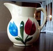 Vintage Pottery Pitcher