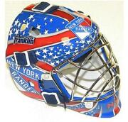 New York Rangers Goalie Mask
