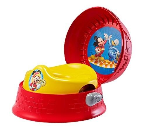Mickey Mouse Potty Chair Toilet Training 3 in 1 Baby Kids To
