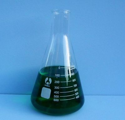 Conical Flask Erlenmeyer Flask 1000ml - Ships From Usa