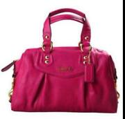 New Pink Coach Purse
