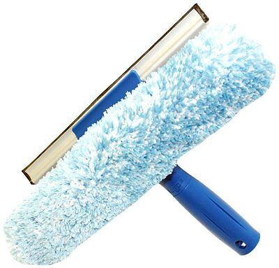 Unger Microfiber Window Combi 2-in-1 Professional Squeegee And Window Scrubber